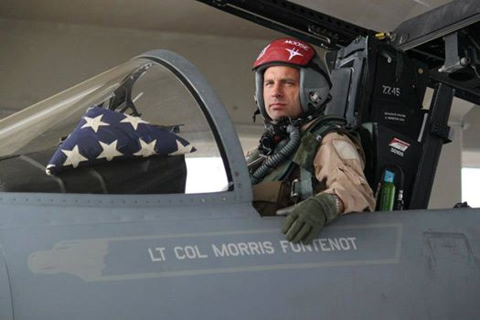 "Lt. Col. Morris ""Moose"" Fontenot Jr., 104th Fighter Wing Photo"