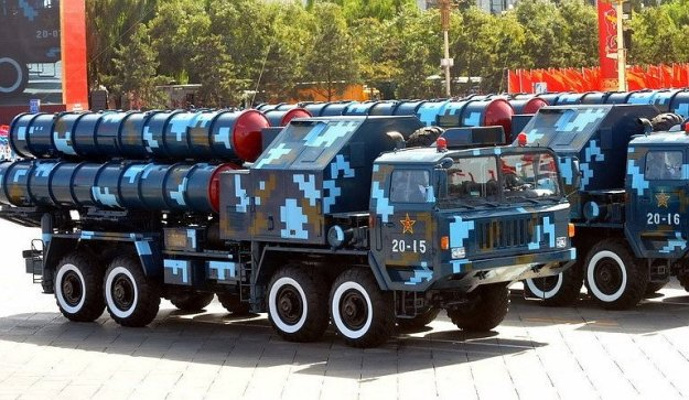 Chinese anti-air missile system.
