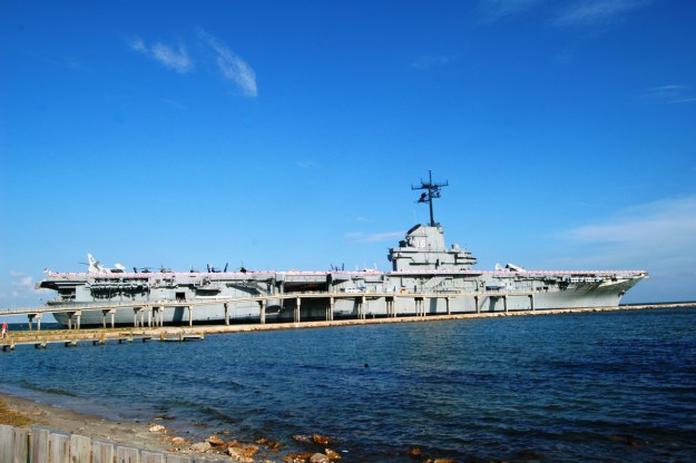 Undated photo of USS Lexington Museum By the Bay