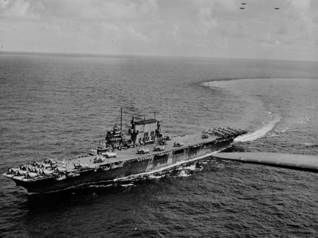 USS Saratoga (CV-3). US Navy Photo