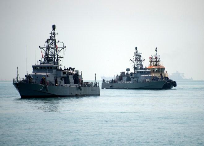 Two Final U.S. Navy Patrol Ships Arrive in Middle East