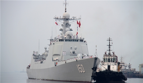 Chinese Ships in Iran for Joint Exercises