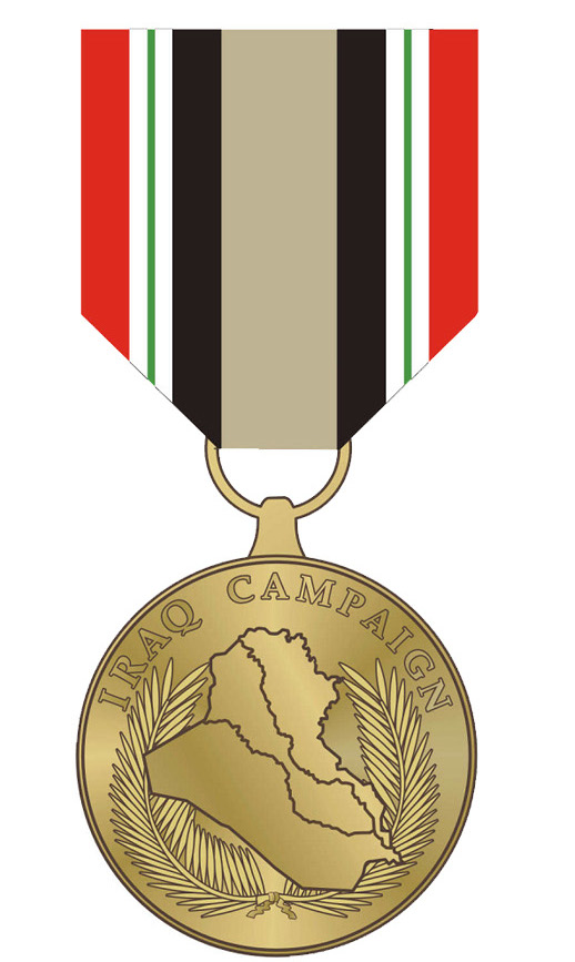 The Pentagon's Iraq Campaign medal.