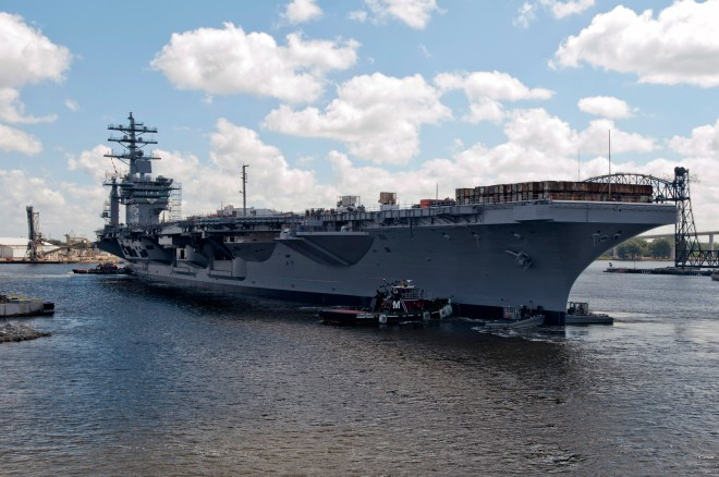 Fleet Forces Swap Truman and Eisenhower Carrier Deployments