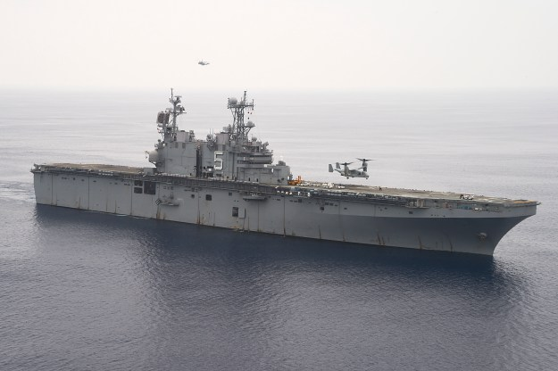 USS Peleliu (LHA-5) on Sept. 10, 2014. US Navy Photo