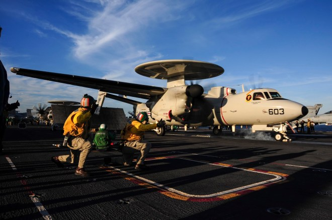 Navy Declares IOC For E-2D Advanced Hawkeye