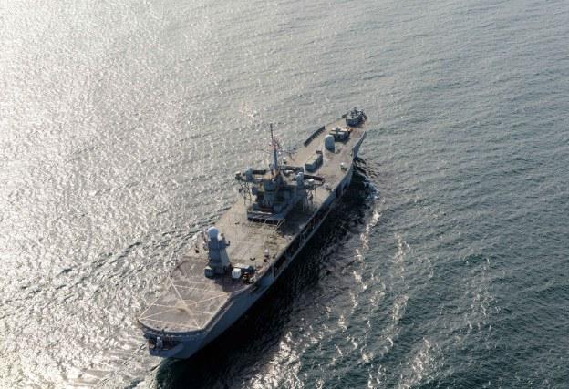 U.S. Command Ship Leaves Black Sea