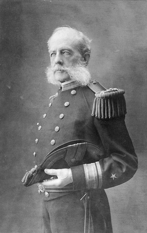 Rear Adm. Stephen Luce in 1888