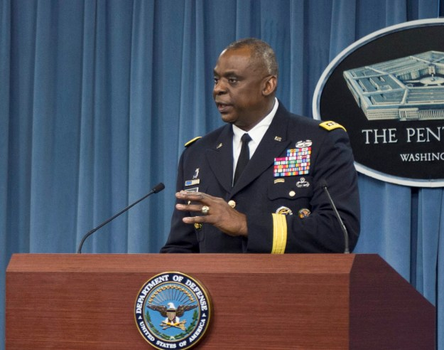 U.S. Central Command Commander General Lloyd J. Austin III on Oct. 17, 2014. Defense Department Photo