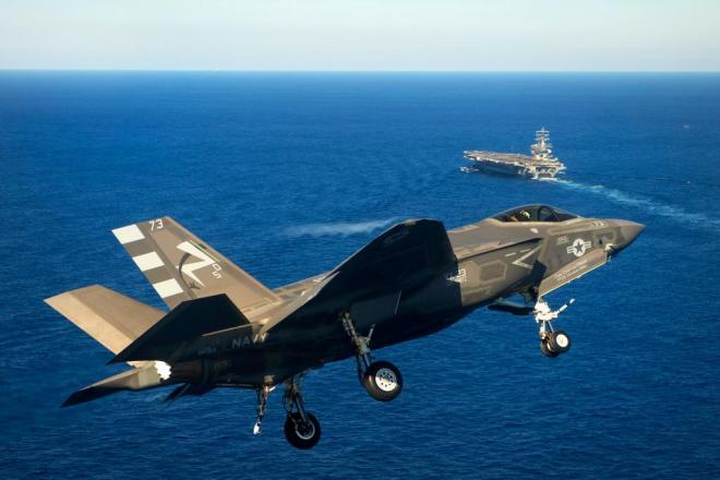Video: More F-35C Tests on USS Nimitz