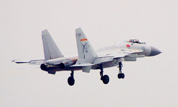 Chinese Carrier Fighter Now In Serial Production