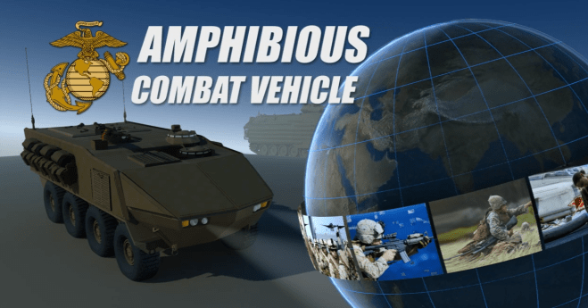 Video: U.S. Marine Amphibious Combat Vehicle Program Overview