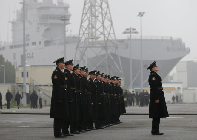 Russian Mistral Sailors Leave France, Ship Program Still in Limbo