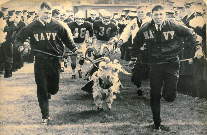 A Brief Illustrated History of the Navy Goat