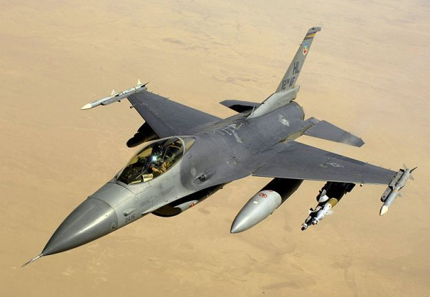 F-16 Falcon. US Air Force Photo