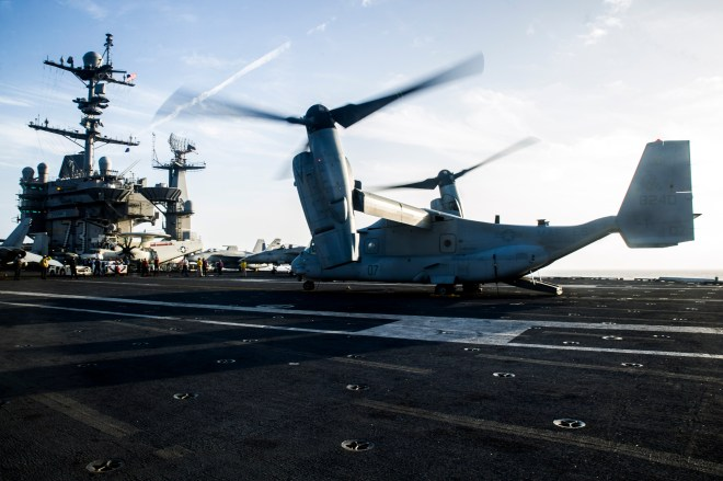Update: SECNAV Mabus Confirms V-22 Carrier Delivery Memo