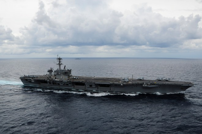 Upgraded Carrier Roosevelt Starts Pre-Deployment Exercises