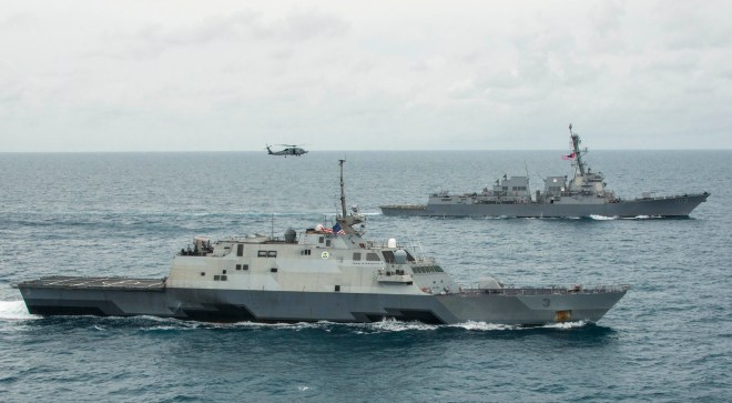 USS Fort Worth Successfully Tested Overseas Maintenance Outside of Singapore Hub