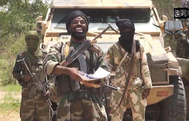 Leader of the Nigerian Islamist extremist group Boko Haram, Abubakar Shekau