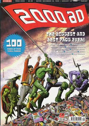 2000 AD comic, 1999