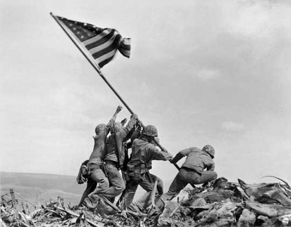 Iwo Jima at 70: The Most Reproduced and Parodied Photo in History?