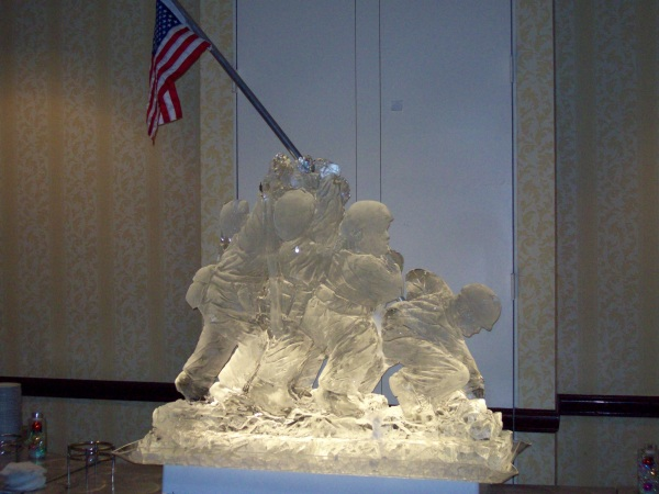 Carved in ice by Ice Art, Inc