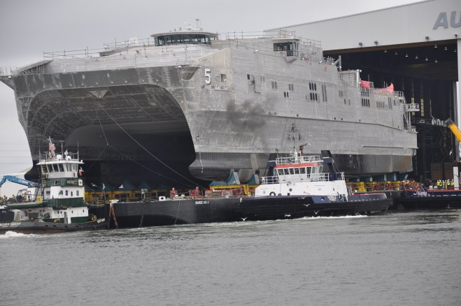 NAVSEA: Fifth Joint High Speed Vessel Completes Acceptance Trials