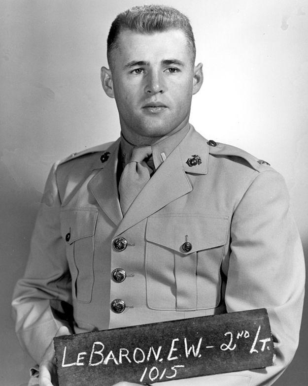 Former Marine and NFL quarterback Eddie LeBaron.