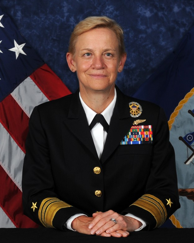 Vice Adm. Nora Tyson, deputy commander of U.S. Fleet Forces Command.