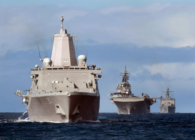 Essex Amphibious Ready Group, 15th MEU Set to Deploy Today from San Diego