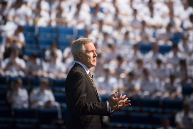 Video: SECNAV Ray Mabus Speech on Navy Personnel Changes