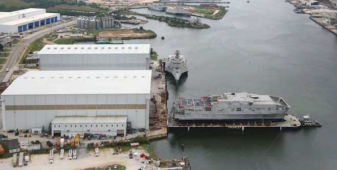 Navy Christens Sixth Joint High Speed Vessel