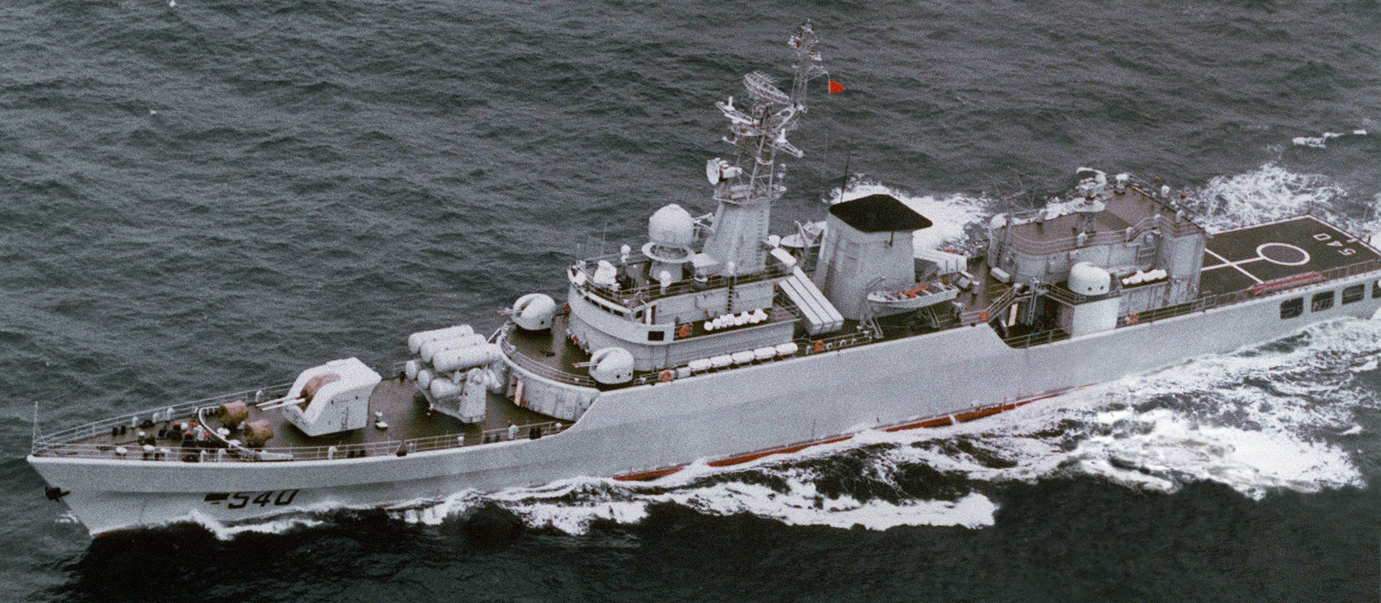 A Chinese Built Type 53h Frigate Dod Photo