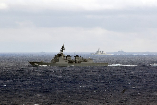Planned Japanese Self Defense Force Aircraft Buys, Destroyer Upgrades Could Tie Into U.S. Navy's Networked Battle Force