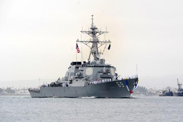 Destroyer USS Milius Returns to San Diego After 8 Month Deployment