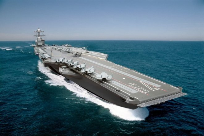 Navy Won't Commit to Proposed Congressional Cost Cap for Second Ford-Class Carrier