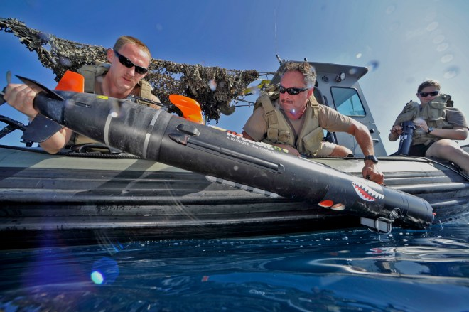 Navy to Invest Up to $228 Million to Support Unmanned Mine Countermeasures Vehicles