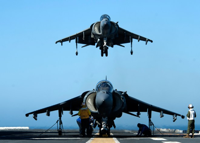 Pentagon Requests Funding To Accelerate Harrier Data Link Upgrades