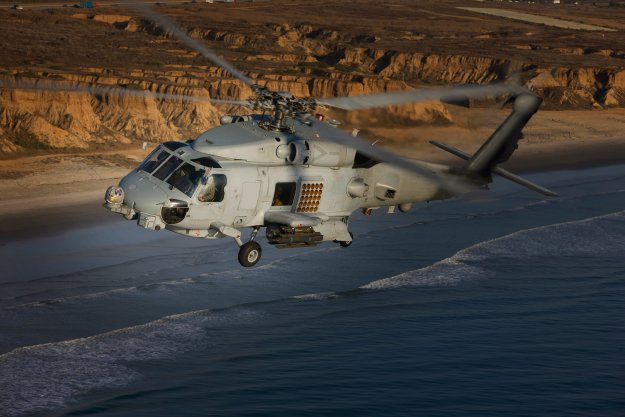 Lockheed Martin will buy Sikorsky later this year, giving the company full control over the MH-60R and S lines. Lockheed Martin photo.