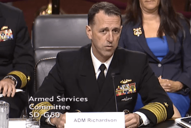 CNO Nominee Richardson: Ford Carrier Cost Growth 'Unacceptable'