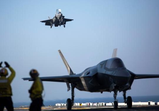 Davis: F-35Bs, Aviation Combat Elements Have 'Tremendous Capability for Growth'