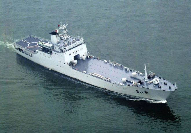 Report: Chinese Navy Warship Rammed Two Vietnamese Fishing Vessels