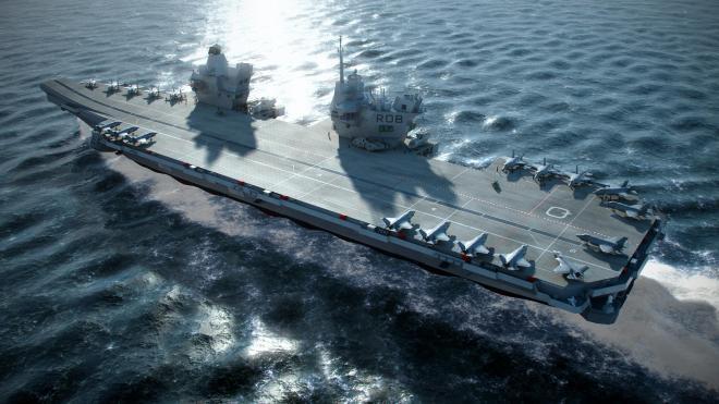 DSEI: U.S. Marine F-35Bs Will Operate From British Queen Elizabeth Carriers