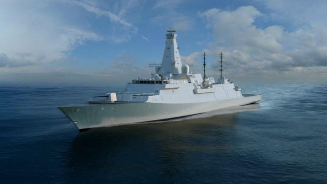 Video: U.K. Reveals New Type 26 Frigate Design