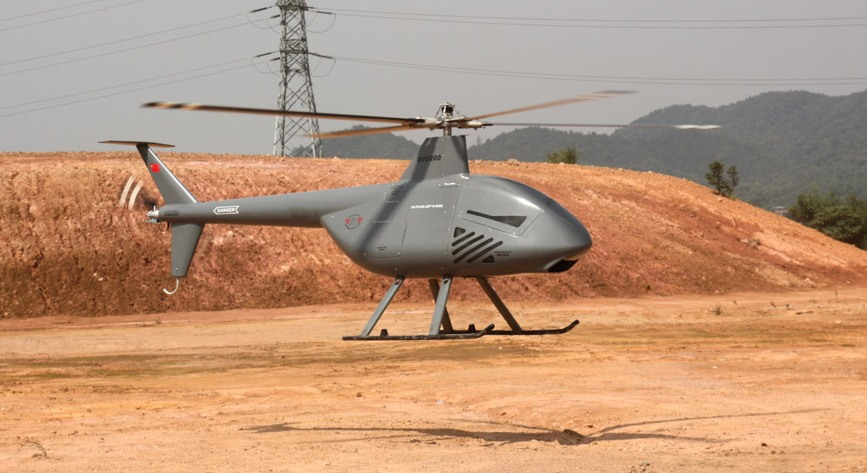 Chinese SVU-200 Flying Tiger unmanned helo
