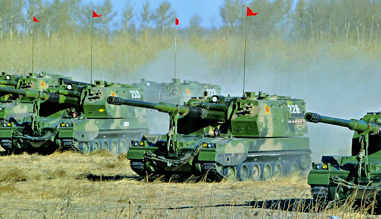 Chinese PLZ-05 Self-Propelled Howitzer