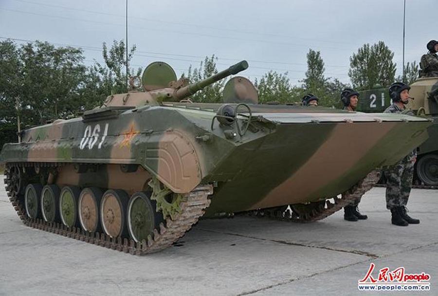 Chinese WZ-501 amphibious infantry fighting vehicle