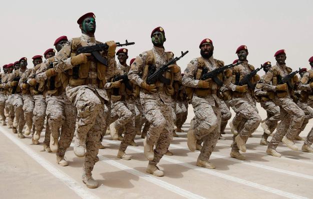 saudi troops