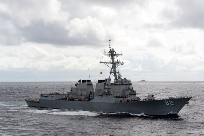 U.S. Destroyer Made an 'Innocent Passage' Near Chinese South China Sea Artificial Island in Recent Mission