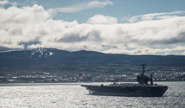 Three Carrier Swap To Complete When USS George Washington Arrives In Norfolk Next Week